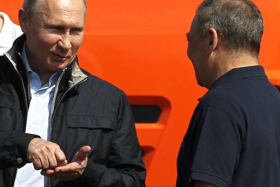 После визита Путина Ротенберг признался, что у него «мурашки бегают», когда он говорит о завершении стройки
