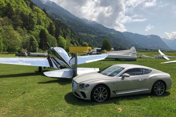 У австрийских планеристов самолет Spartan Executive 1934 г. вызвал больше интереса, чем новый Bentley