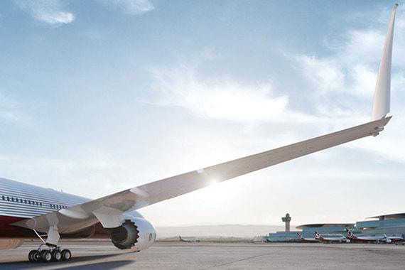 В пассажирском Boeing разрешили использовать складное крыло