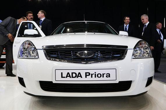 Автомобили Lada Priora снимут с производства
