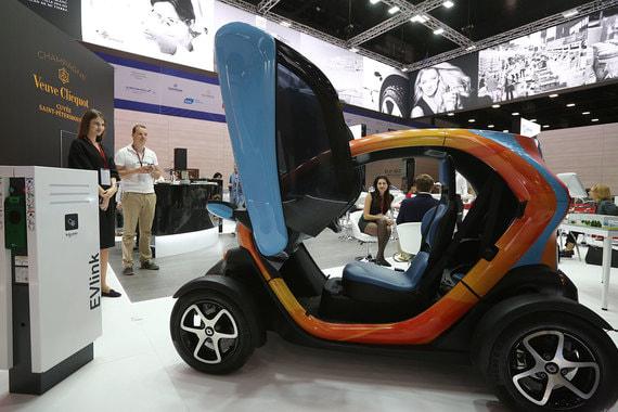 Автомобиль Renault Twizy