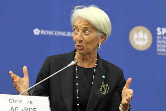 Управляющий директор Международного валютного фонда (МВФ) Кристин Лагард