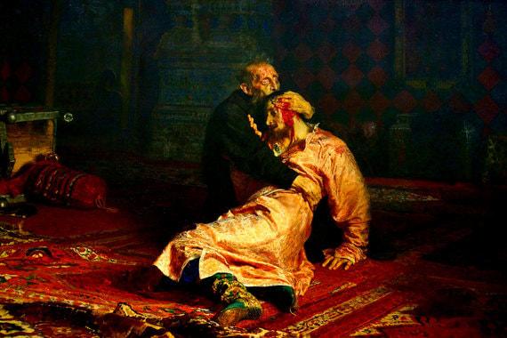 normal u65 В Третьяковке посетитель повредил картину «Иван Грозный и сын его Иван»