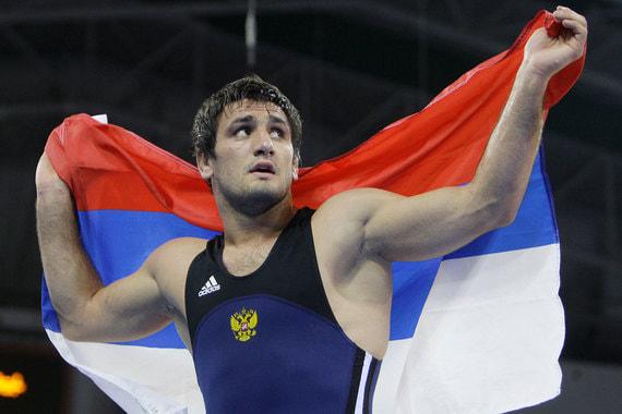 Ширвани Мурадов. Российский борец вольного стиля, олимпийский чемпион 2008 г.