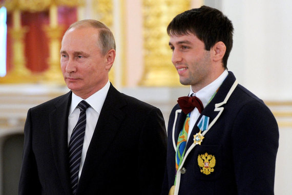 Сослан Рамонов. Олимпийский чемпион по вольной борьбе 2016 г.