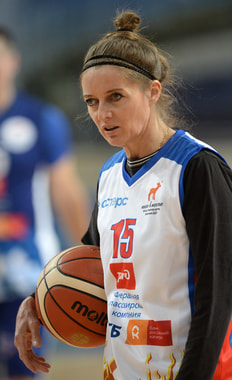Ирина Сумникова. Советская баскетболистка, олимпийский чемпион 1992 г.