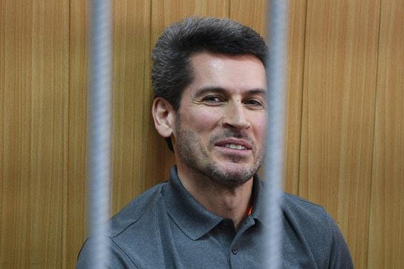 Совладелец группы «Сумма» Зиявудин Магомедов во время заседания в Тверском суде Москвы 28 мая. Суд продлил ему арест еще на два месяца