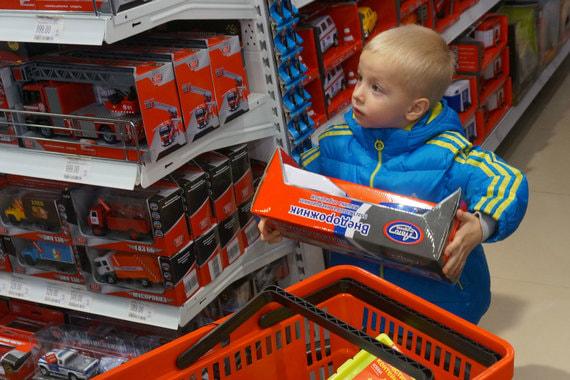 «Детский мир» откроет магазины под новым брендом. Сеть ABC будет продавать  недорогие развивающие. « be5bf0e6ad3