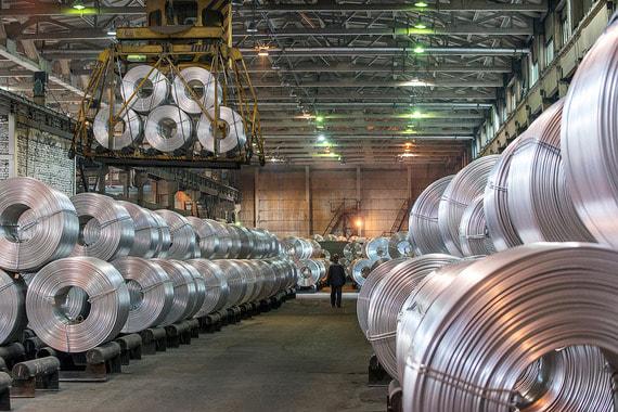 normal 1cpz UC Rusal почти вдвое снизила экспорт алюминия из за санкций