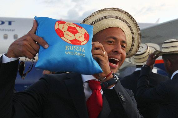 Футболист Габриэль Торрес (на фото) радуется приезду в Россию. Его страна впервые в своей истории будет представлена на чемпионате мира по футболу