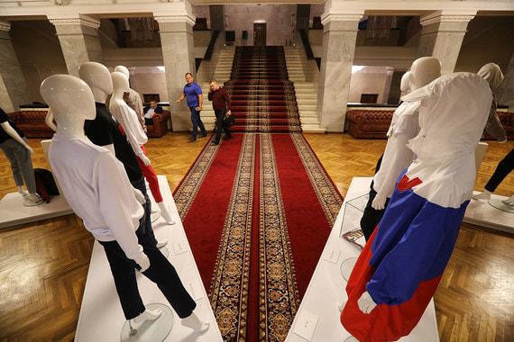 В Государственной думе проходит выставка российских дизайнеров «Моя Россия – мой выбор!»