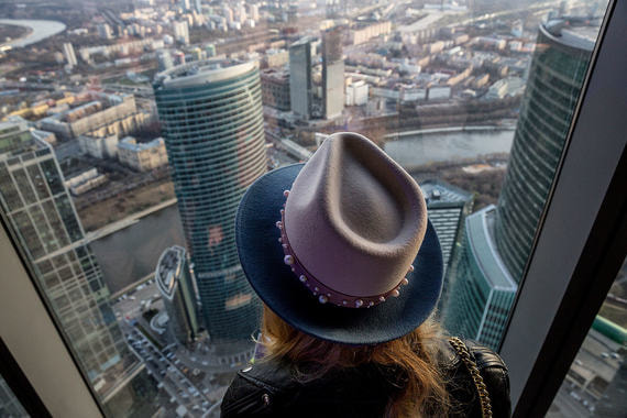 Смотровая площадка  Panorama 360 в «Москва-сити»