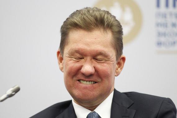 Предправления «Газпрома» Алексей Миллер на Петербургском форуме