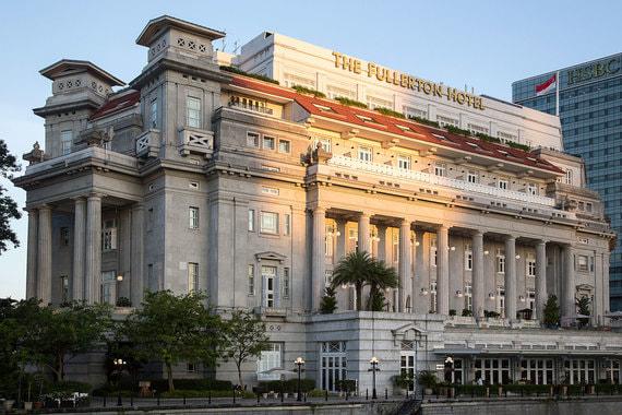 Возможное место встречи двух лидеров в Сингапуре - отель Fullerton