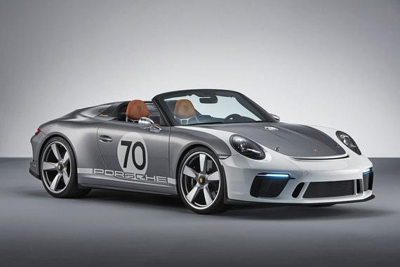 Porsche показала концепт двухместной открытой версии 911-й модели Speedster Concept