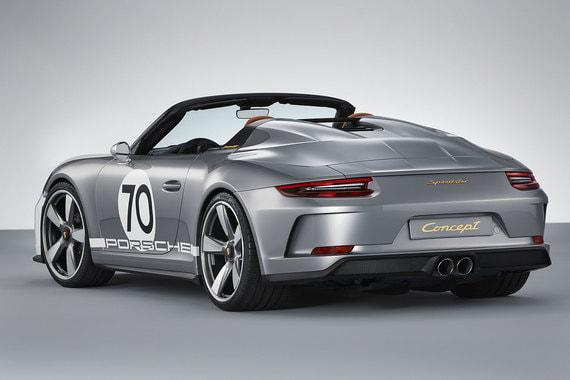 Концепт выпущен к 70-летнему юбилею Porsche, полностью готов к производству и дает представление о перспективной серийной модели, которая может появиться в модельном ряду до конца года