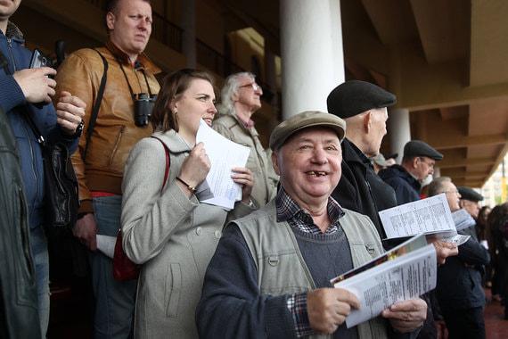 Скачки на приз президента на Центральном Московском ипподроме