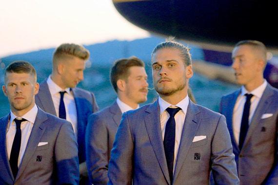 Сборная Исландии прилетела в Геленджик. Именно там она будет жить и тренироваться во время чемпионата мира по футболу