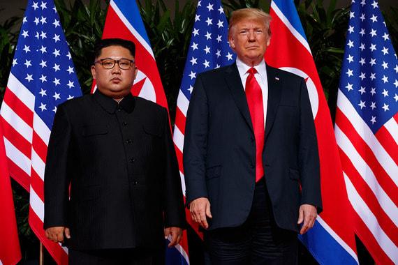 Лидеры перед началом встречи
