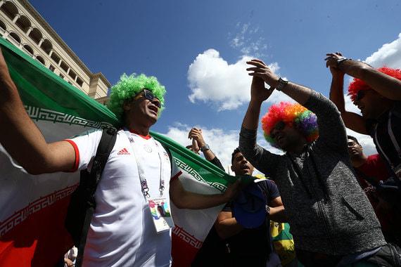 Фанаты сборной Ирана