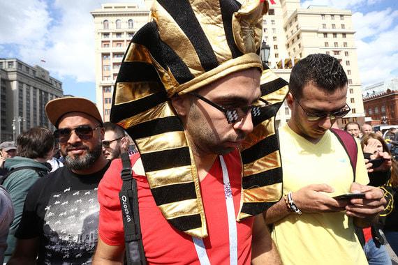 Болельщик сборной Египта