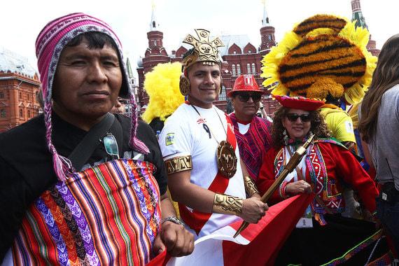 Болельщики из Перу