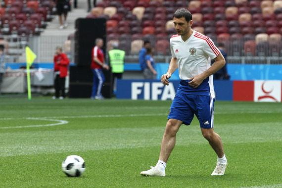 Футболист Алан Дзагоев