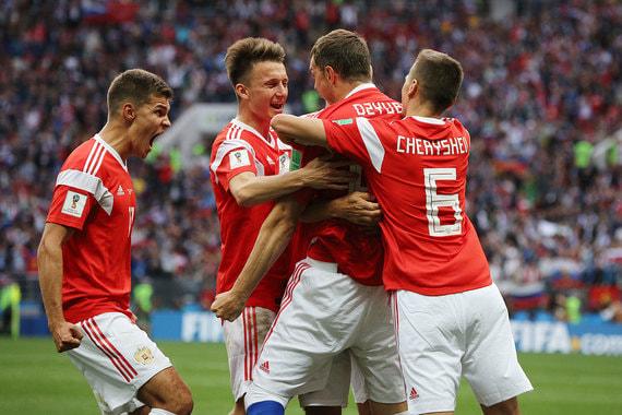normal 1ls8 Сборная России уверенно победила в первом матче чемпионата мира