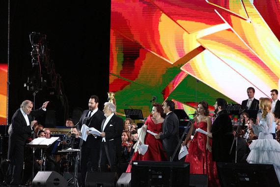 Концерт звезд мировой оперной сцены, посвященный чемпионату мира по футболу
