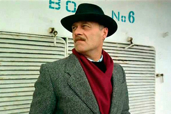 Говорухин как актер сыграл почти в 30 фильмах. В фильме Сергея Соловьева «Асса» он исполнил роль Крымова