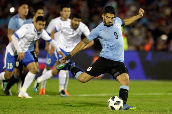 Уругвай. Общая стоимость игроков - $448,4 млн. Самый дорогой игрок – нападающий «Барселоны» Луис Суарес ($84,2 млн)