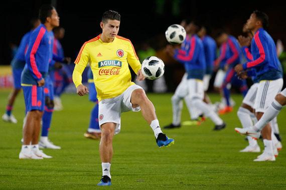 Колумбия. Общая стоимость игроков - $302,1 млн. Самый дорогой игрок – полузащитник мадридского «Реала» Хамес Родригес ($84,2 млн)