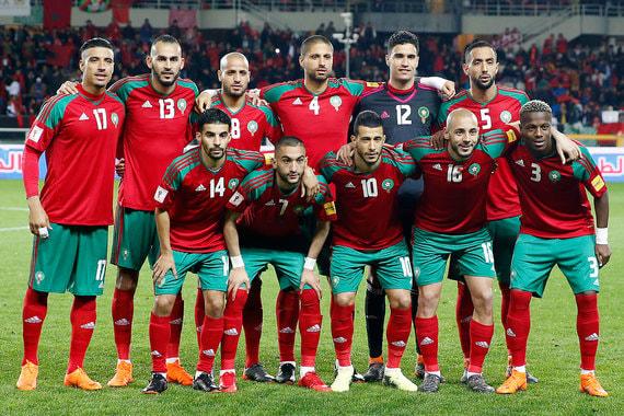Марокко. Общая стоимость игроков - $155,6 млн. Самые дорогие игроки –  полузащитник «Аякса» Хаким Зийех и полузащитник «Шальке 04» Амин Арит  (по $30,1 млн)