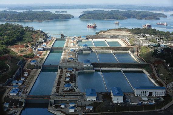 Панамский канал открыл новый маршрут для экспорта энергоресурсов из США