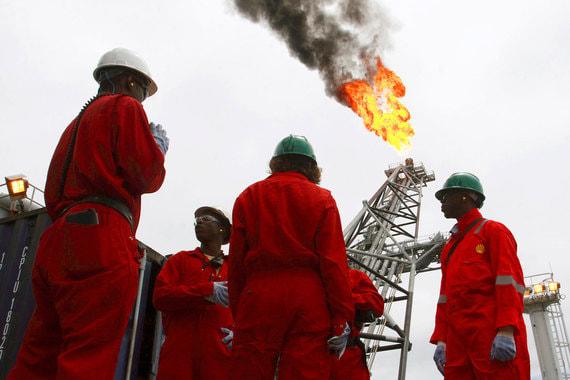 Нигерия – крупнейшая африканская страна – участница ОПЕК. Добыча в 2017 г. составила 1,5 млн баррелей в сутки (данные ОПЕК) или 1,99 млн баррелей в сутки (данные BP). При этом экспорт, по данным той же ОПЕК, выше производства – 1,8 млн баррелей в сутки