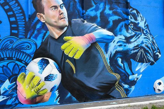 normal 1kn6 Граффити с изображением футболистов в российских городах
