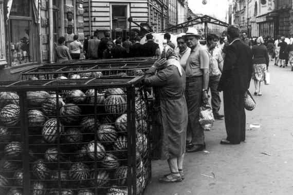 1965 г. Уличная торговля