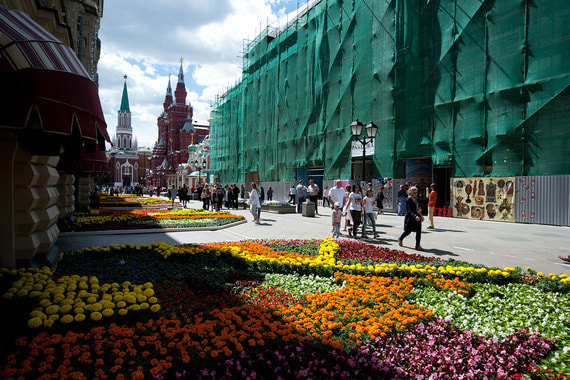 Фестиваль цветов, 2017 г.