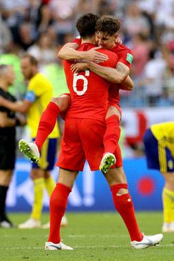 Сборная Англии обыграла шведов со счетом 2:0 и вышла в полуфинал турнира