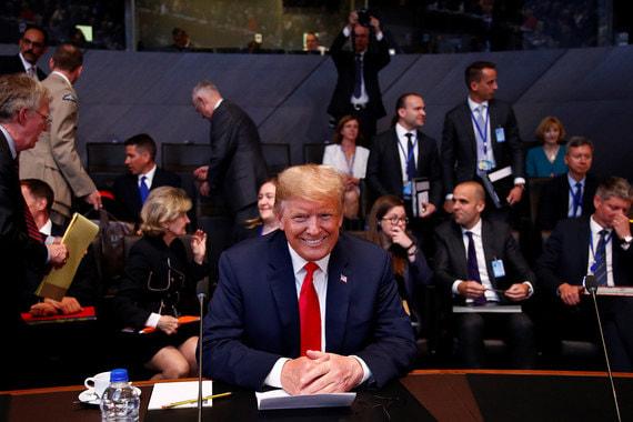 «У меня впереди саммит НАТО, у меня Великобритания, что будет непросто, и у меня впереди Путин. Откровенно говоря, встреча с Путиным может оказаться самой простой из них, кто знает», – заявил Трамп перед отъездом в Бельгию