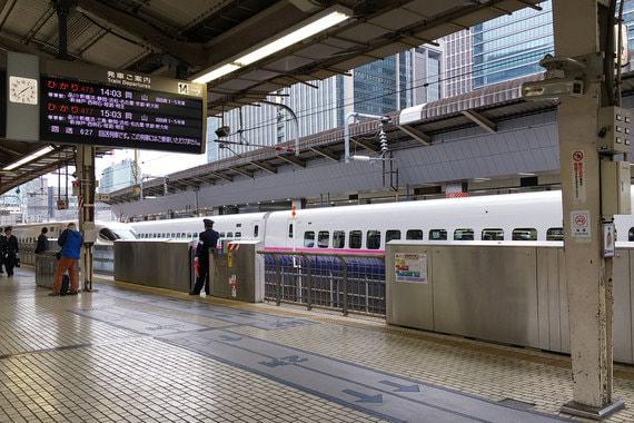 Вокзал в Токио