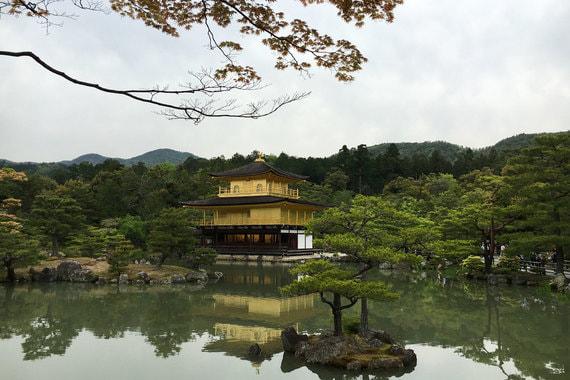 Золотой павильон (Кинкаку-дзи), Киото