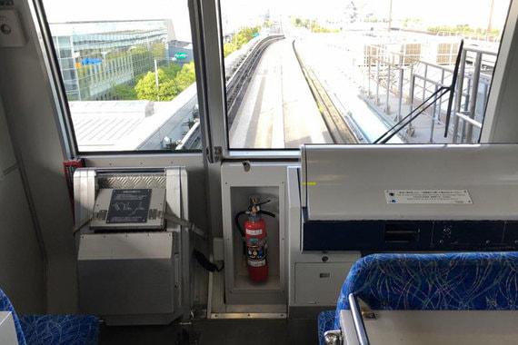 На остров Одайба (Одайбо) неподалеку от Токио со станции Shimbashi отправляются поезда без машиниста