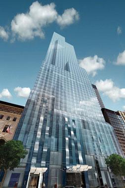 Здание Park Hyatt New York