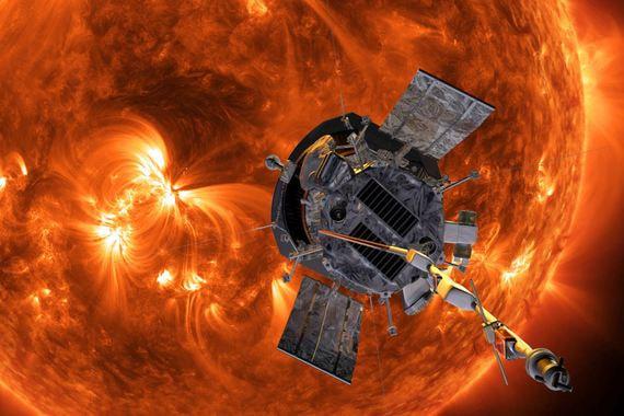 normal yye Как прошел запуск ракеты с зондом для изучения Солнца