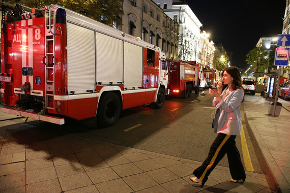 normal 1pjq Пожар в главном здании Центробанка