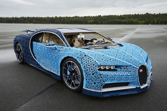 normal ysg Как выглядит Bugatti Chiron из миллиона деталей Lego