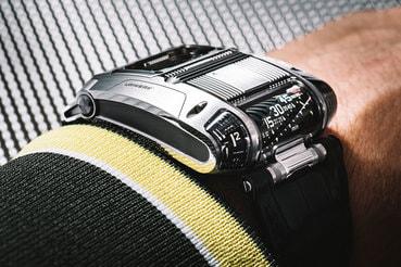 ac71515945a0 Urwerk выпустила часы с несколькими видами индикации часов, минут и секунд