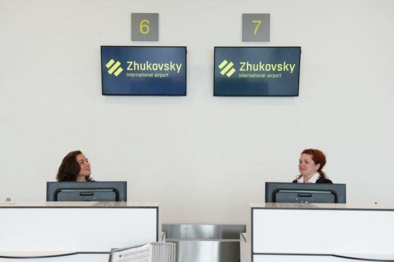 Аэропорт «Жуковский» планирует принять 1,2 млн человек в 2018 году