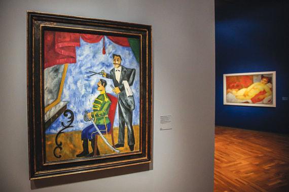 normal 1pgc Большая и яркая выставка Михаила Ларионова проходит в Новой Третьяковке